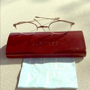 OLIVER PEOPLES Bronze Prescription Frame Glasses
